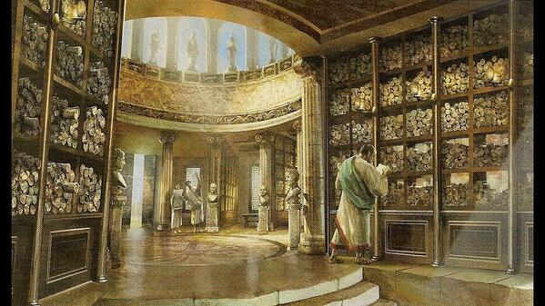 library inside