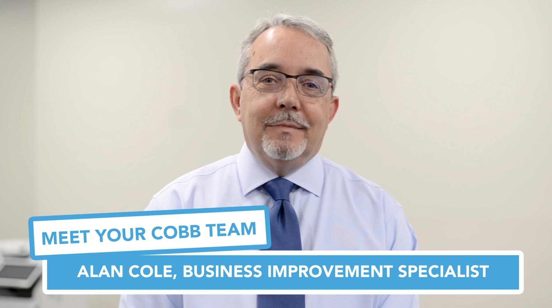 Meet Your Cobb Team: Alan Cole, Business Improvement Specialist