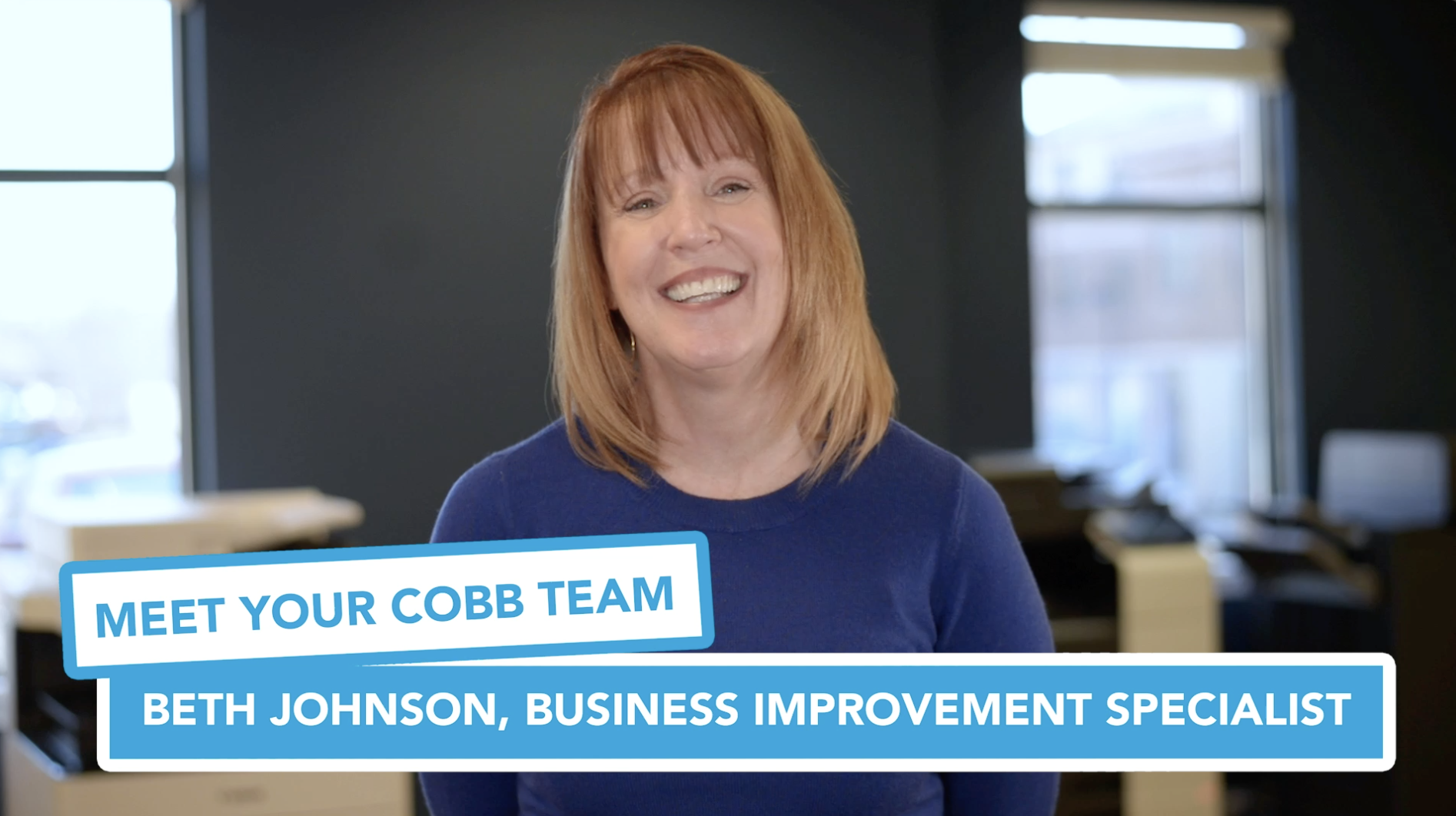 Meet Your Cobb Team: Beth Johnson, Business Improvement Specialist