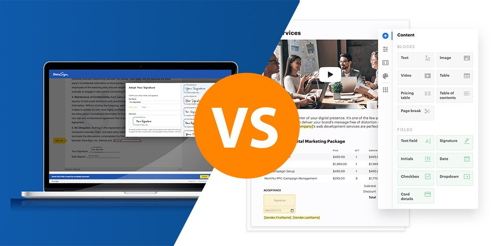 DocuSign vs. PandaDoc