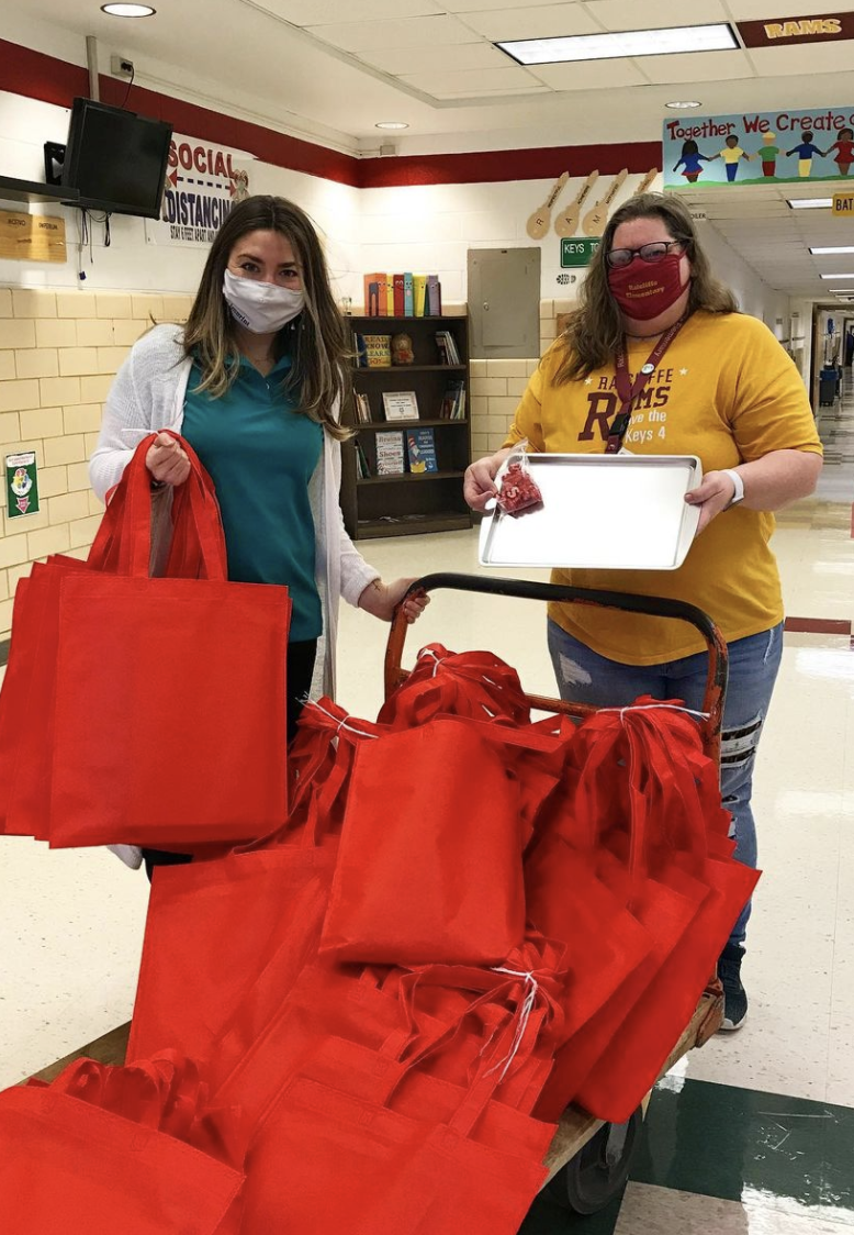 2019 Ratcliffe Elementary Book Donation