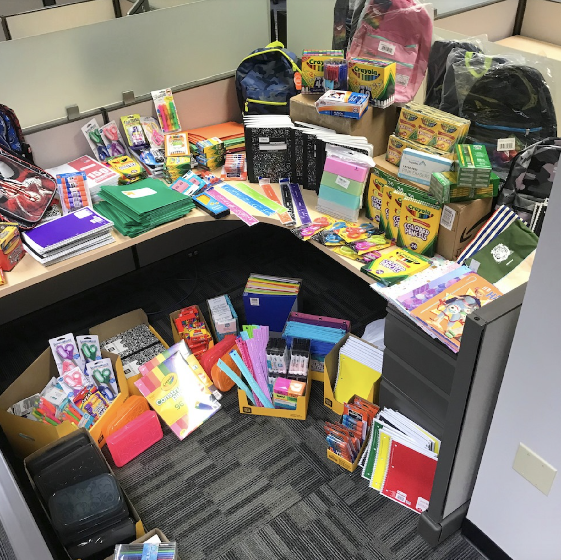 2019 School Supplies Drive