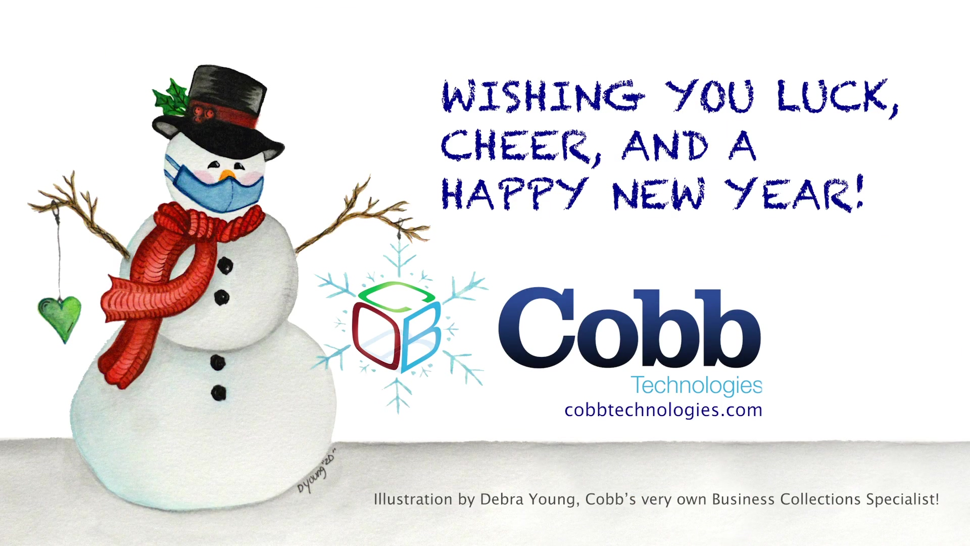 Happy Holidays From Our Cobb Family to Yours!
