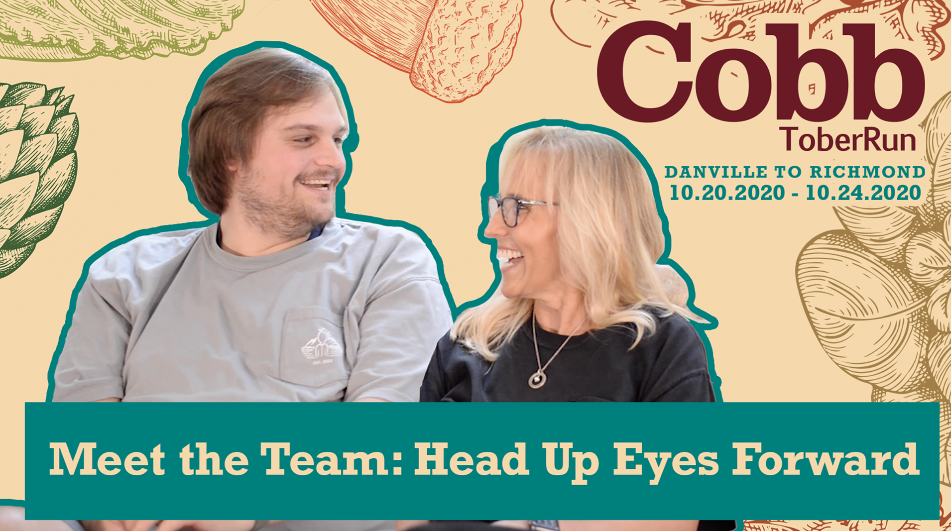 CobbtoberRun 2020 Meet the Team: Head Up Eyes Forward