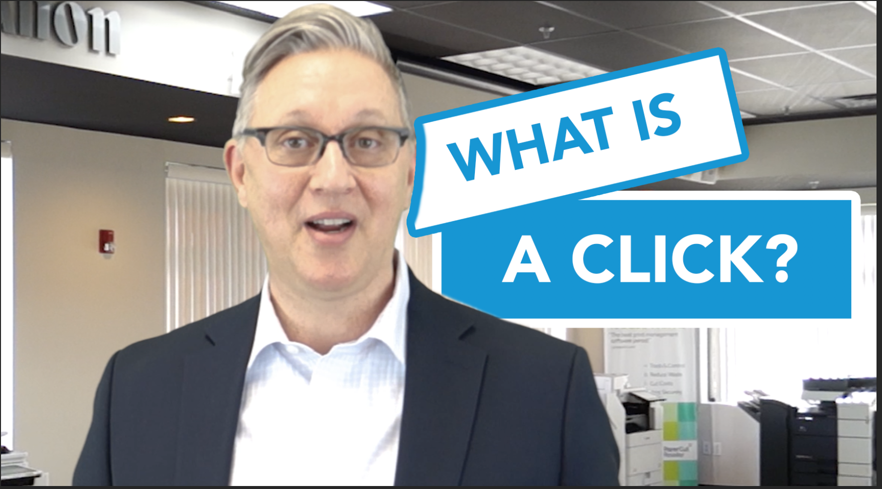 What is a click?