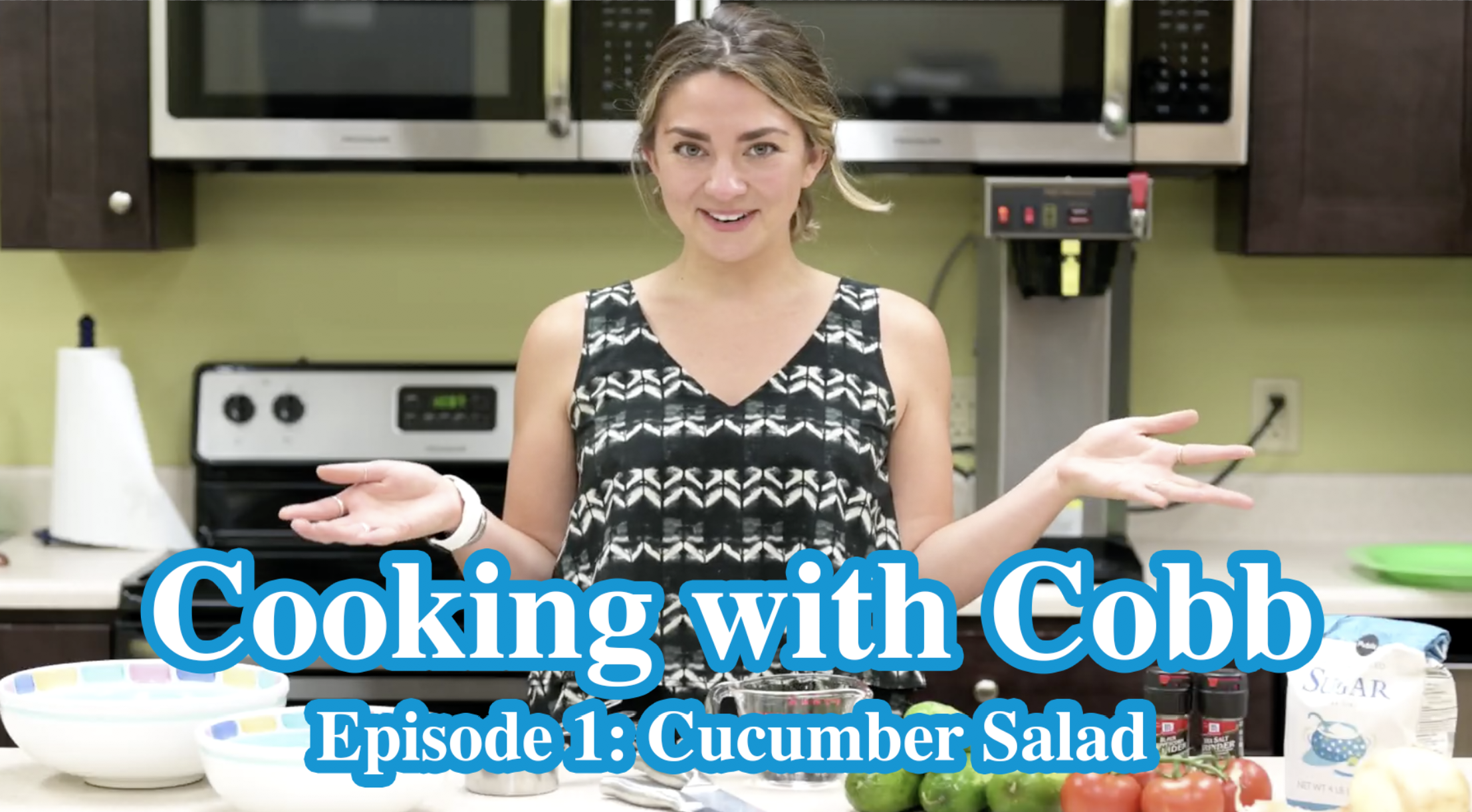 Cooking With Cobb - Cucumber Salad