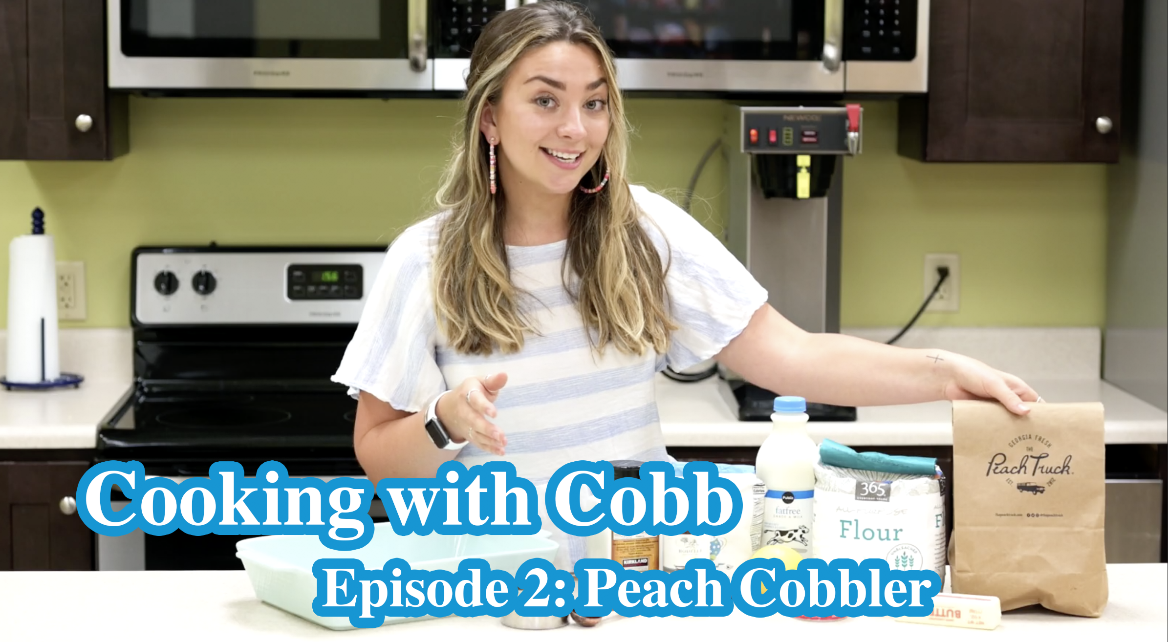 Cooking With Cobb - Peach Cobbler