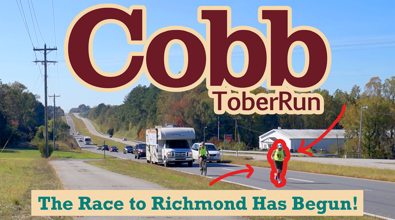 CobbtoberRun 2020: The Race to Richmond Has Begun!