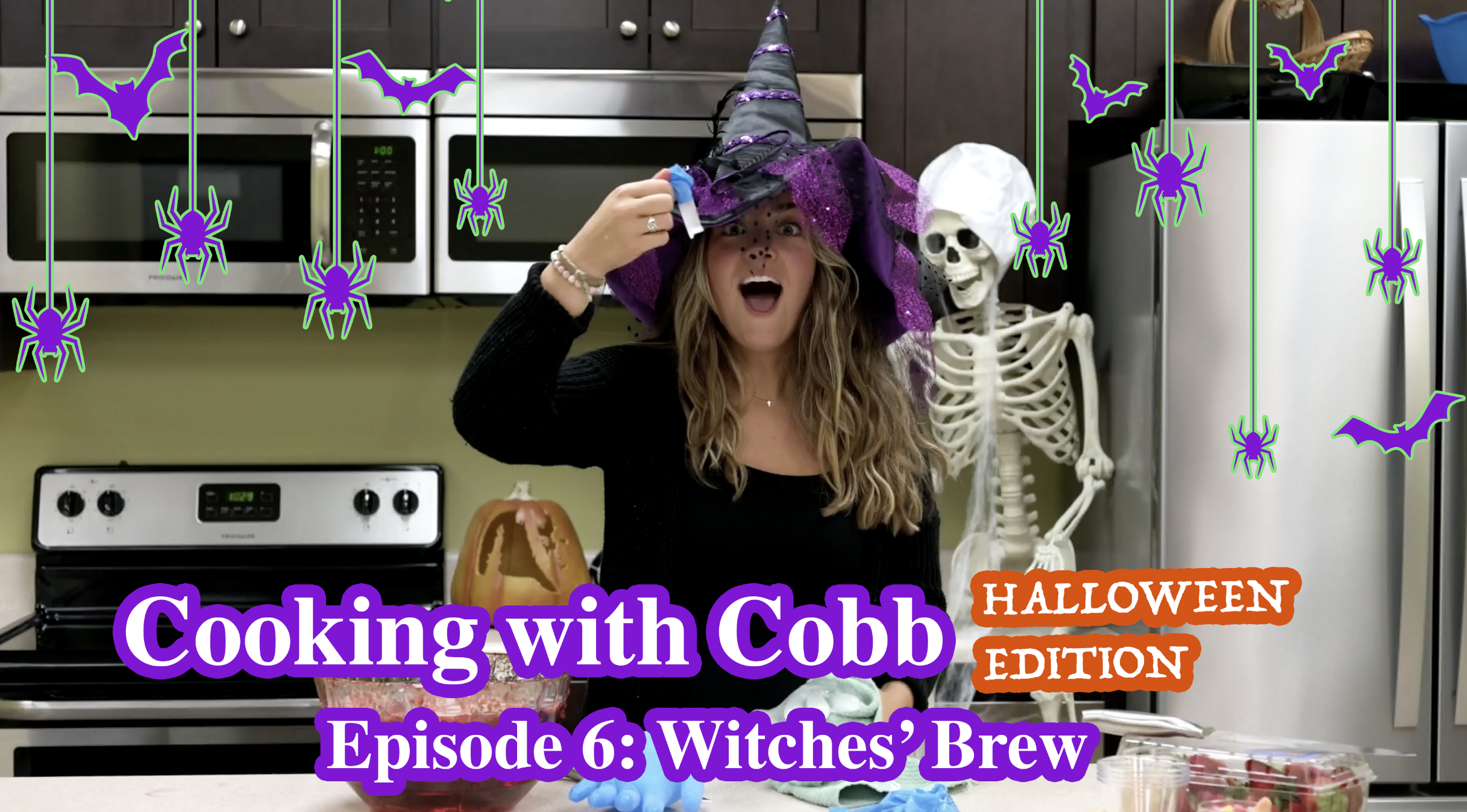 Cooking With Cobb Halloween Edition - Witches' Brew