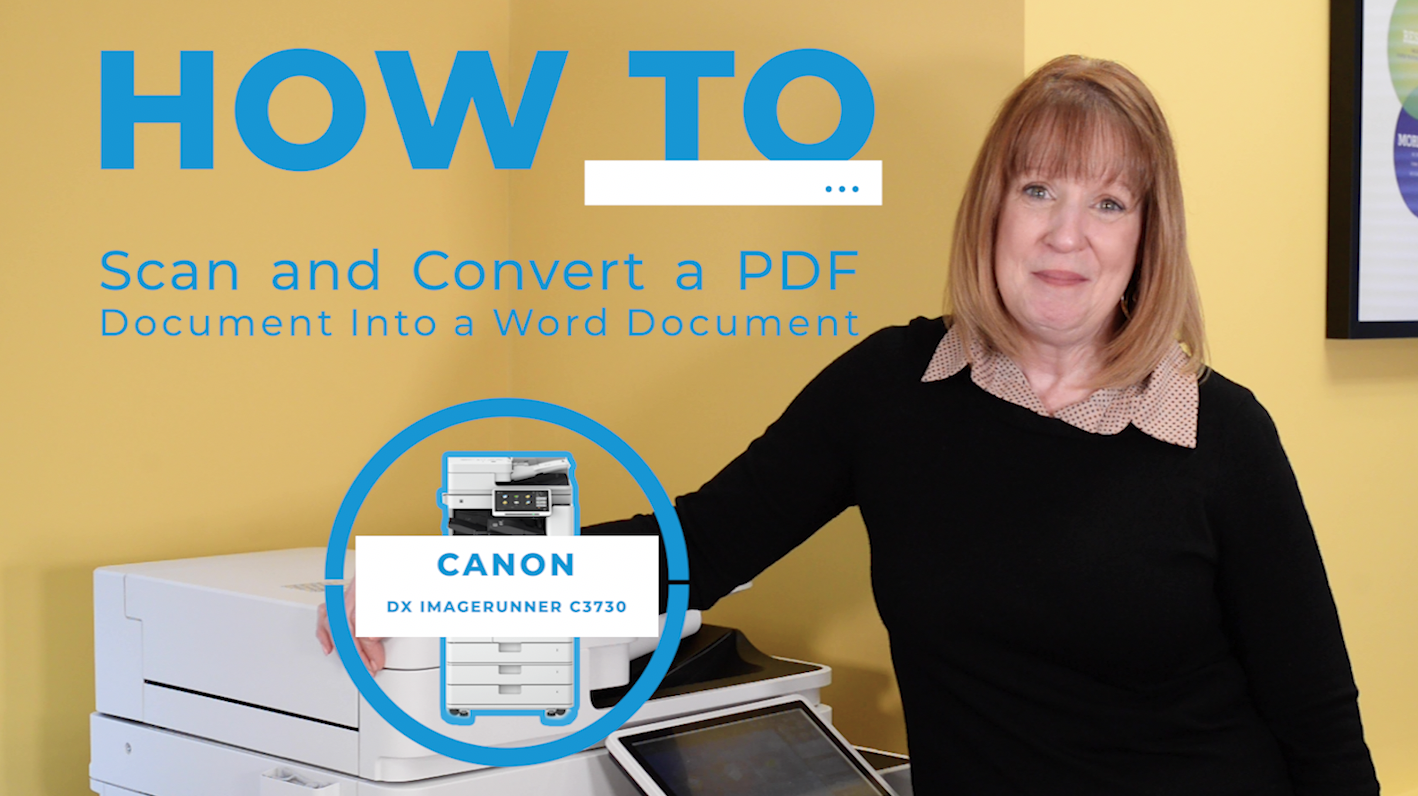 How to Scan a PDF Document and Convert it into a Word Document