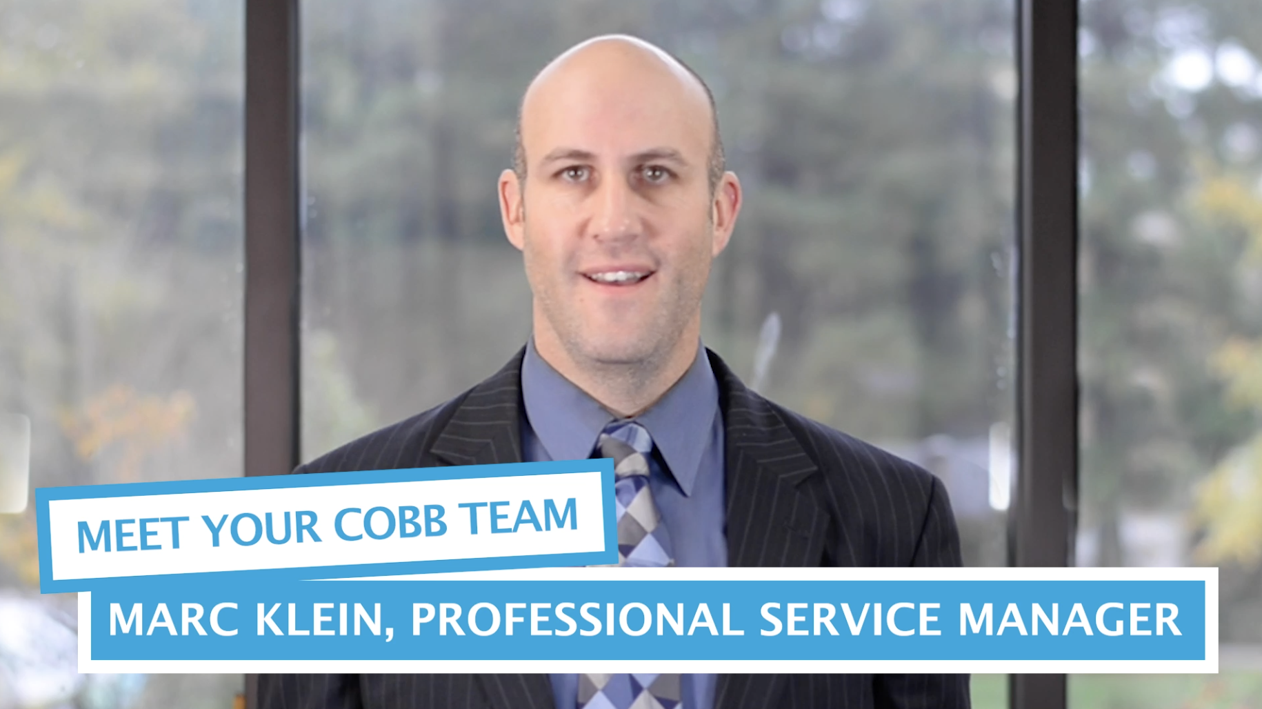 Meet Your Cobb Team: Marc Klein, Professional Services Manager